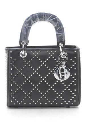 Новая черная женская сумка клатч
