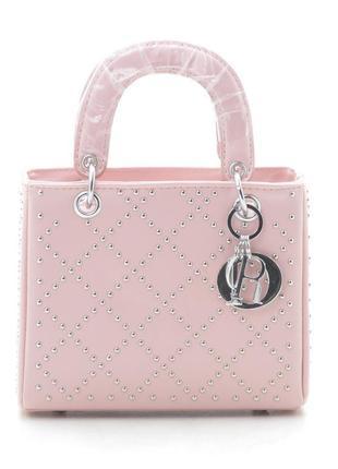 Новая розовая женская сумка клатч