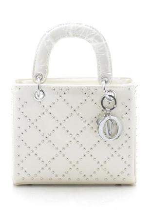 Новая бежевая женская сумка клатч