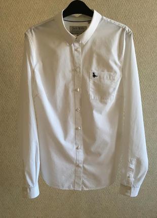 Белая рубашка jack wills