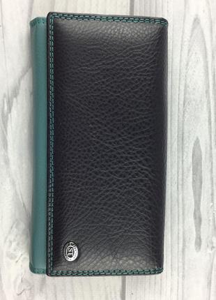 Женский кожаный кошелек st leather sb46 violet