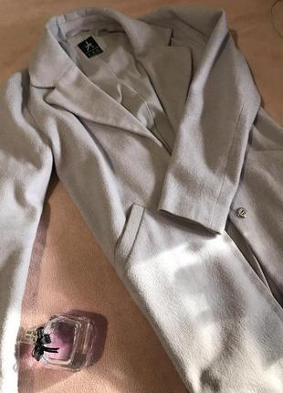 Пальто-пиджак лавандового цвета