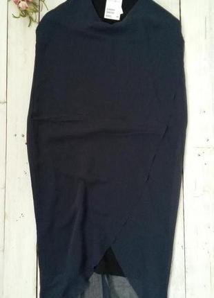Платье h&m,темно синее, размеры 36, 38 .