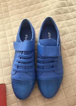 Продам туфли синие спортивные кроссовки кеды новые) р. 37