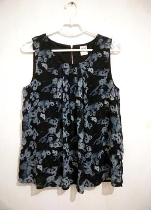 Легкая шифоновая блуза на подкладе vero moda