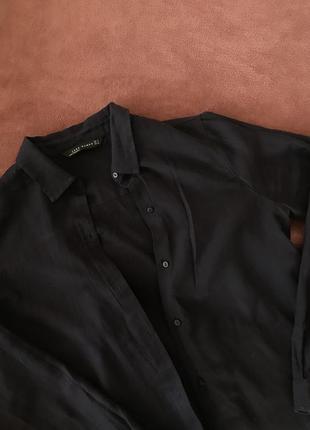 Легкая рубашка zara