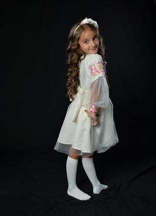 Вишиванка для дівчинки 5-6 років