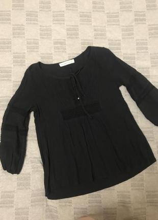 Вискозная блузка abercrombie &fitch