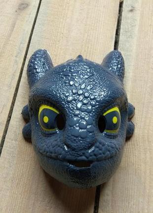 Карнавальная маска дракончик дракон