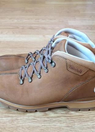 Кожаные ботинки timberland оригинал 43 размера в отличном состоянии