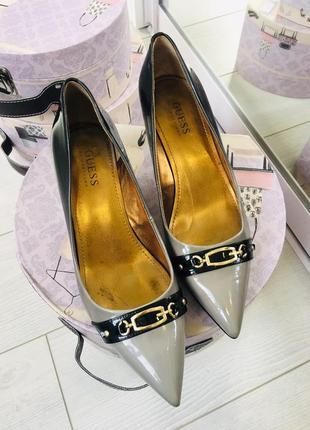 Guess туфли лодочки в цвете амбре1 фото