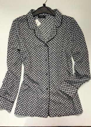 Рубашка блуза пижамный стиль