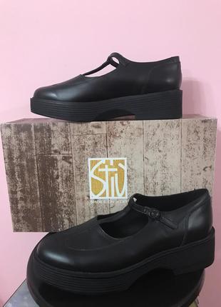 Туфли stiu на платформе италия