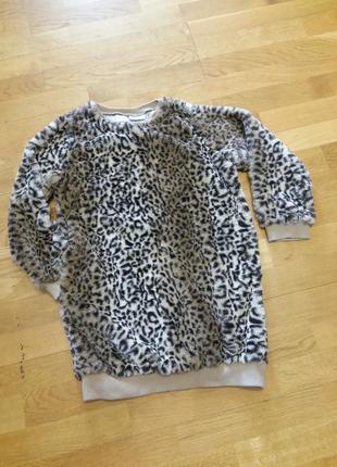 Красивый удлиненный свитер с карманами next на 10-11 лет