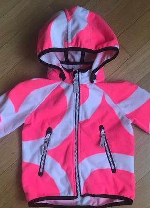 Куртка из материала windfleece vuoksi. reima