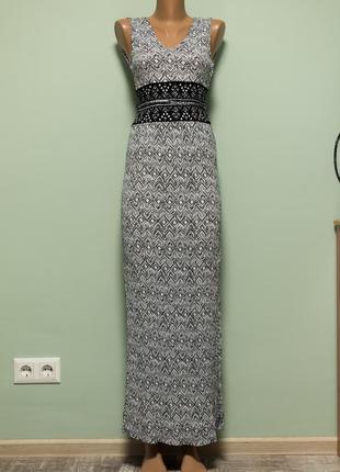 Большой выбор платьев - новое красивое легкое платье в пол вискоза