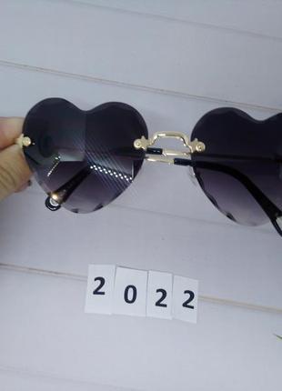 Модные очки -сердечки