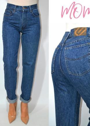 Джинсы момы  высокая посадка винтаж  мом mom jeans mc gordon .