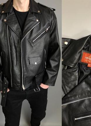 Куртка косуха натуральная кожа кожаная