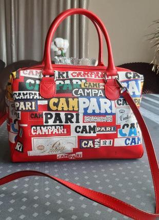Новая фирменная красивая вместительная сумка фирмы campari  by brics limited edition