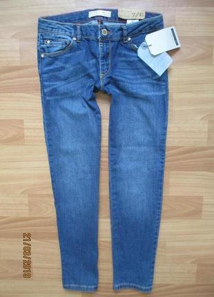 Новые джинсы zara на 7-8 лет