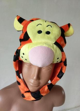 Карнавальная шапка к костюму тигр тигра по бирке 4-6 лет можно больше