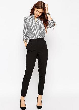 Узкие плотные брюки 48 размер жіночи штани галанці