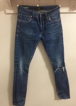 Офигенные джинсы 👖 с дыркой на колене