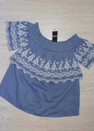 Блуза с вышивкой george p 8