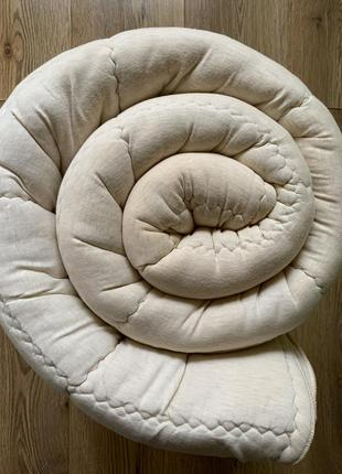 Мягкое теплое шерстяное одеяло 100% овечья шерсть rheumalind германия