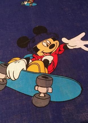 Платок бандана микки на скейте