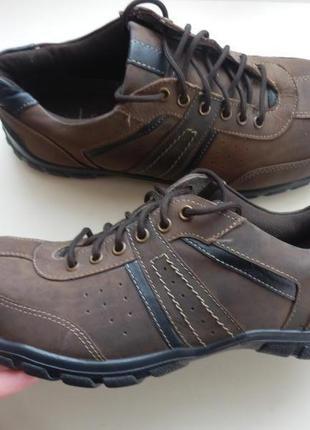 Кожаные туфли кроссовки lotus 42р