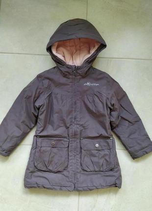 Тепленьке пальтішко на осінь/зима, на 6 років