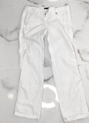 Tommy hilfiger белые женские  штаны