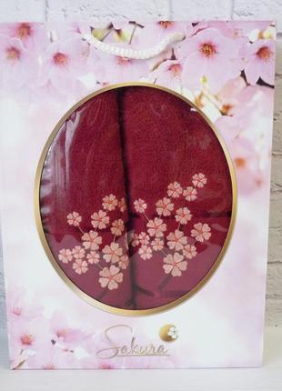 Набор полотенец сакура