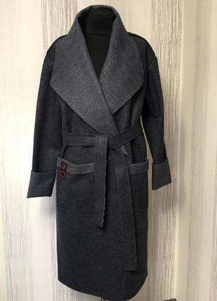 Кардиган- пальто 46-54 размер