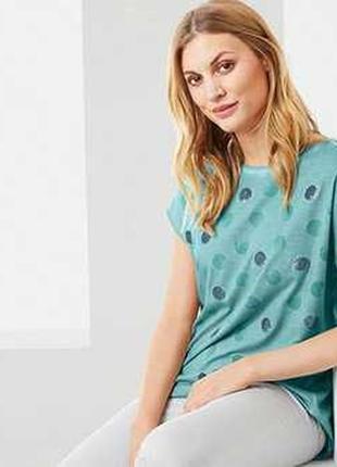 Женская футболка в винтажном стиле 40-42р евро tcm tchibo германия смотрите замеры
