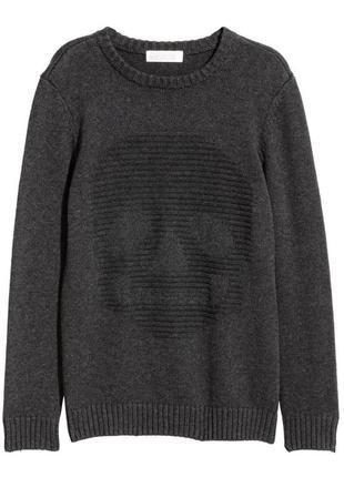 Новый темно-серый свитер для мальчика, h&m, 0549852