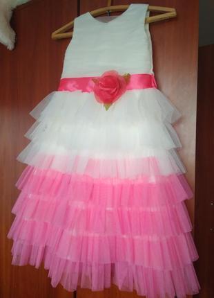 Праздничное платье, 122-128см