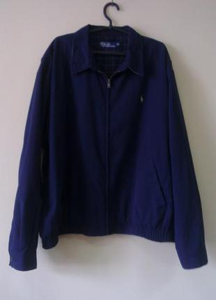 Polo ralph lauren куртка-бомбер с вышитым логотипом xxl