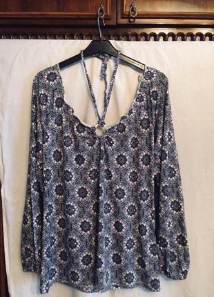 Летняя блузка,кофточка с открытыми плечами от бренда gina
