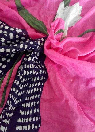 Коттоновый платок  valentino