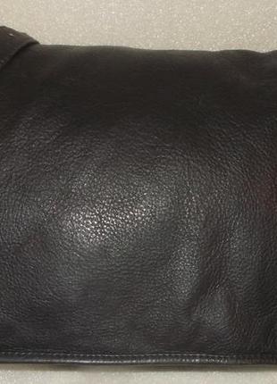 Крупная мужская сумка (почтальон) натуральная кожа