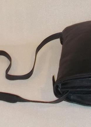 Крупная мужская сумка (почтальон) натуральная кожа3