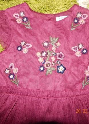 Платье с вышивкой4