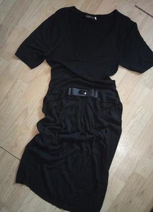 Oggi чёрное красивое платье