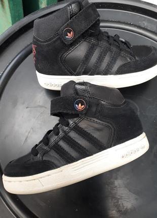 Adidas neo высокие кроссовки хайтопы скейтера для мальчика