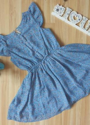 Фирменное нарядное платье next девочке 6 лет состояние отличное.