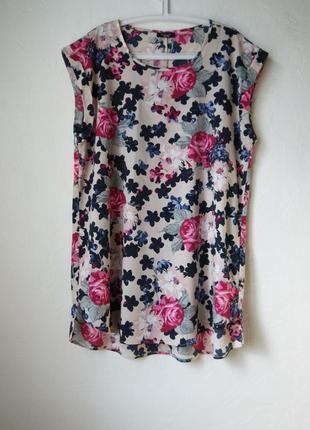 Летняя длинная блуза туника