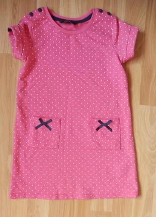 Фирменное платье george малышке 1-1,5 года состояние нового